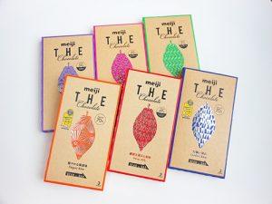 THE chocolate パッケージ 6種類