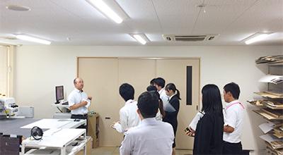 株式会社コマガタ 学生の企業見学ツアー CAD設計室