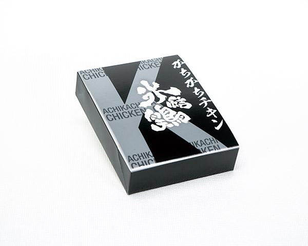 化粧箱屋ドットコム コマガタ フォーコーナー 作業性UP 銀と黒  特色2色刷