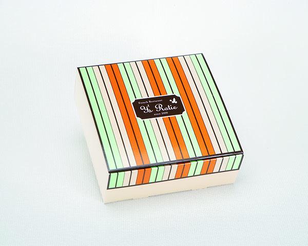 化粧箱屋ドットコム コマガタ 特色4色刷り N式 箱 色数 安定した発色